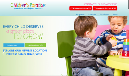 ChildrensParadiseWebsite